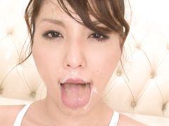 Asian hardcore blowjob masturbation gangbang