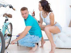 Sex for bicycle repair