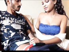 Indian tramp is wailing while getting ravaged firmer than ever before, in front of the camera